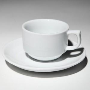 Чашка 1в1 с блюдцем