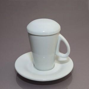Чашка с крышкой  F2773