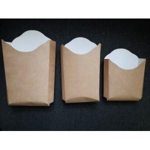 упаковка для фри крафт M